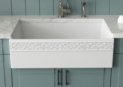 Product Feature: Bocchi Farmhouse Sinks + Pfister Faucets