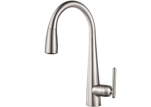 Pfsiter Lita 1-Handle Pull-Down Kitchen Faucet - GT529-FLS